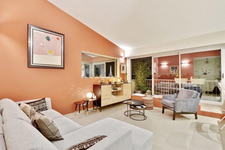 Rénovation contemporaine d'un appartement à proximité de la tour Eiffel